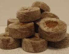 Кокосовые таблетки Jiffy-7 в коробках в ассортименте